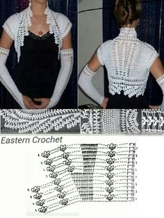 Beautiful crochet bolero