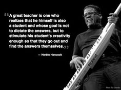 Quote from a Great Teacher