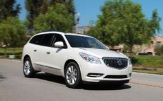 2013 Buick Enclave First Test: A Touch-Up is Just Enough
