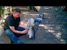 Homemade Gym Equipment: Rowing Machine Part 2/2 - YouTube