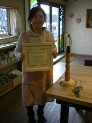 2009年3月21日 みんなの作品【額・鏡・壁飾り】 大阪の木工教室arbre(アルブル)