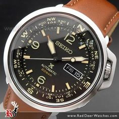 Seiko 5 Automatic, Automatic Watch, Best Watches For Men, Cool Watches, Selection, Seiko Watches, Hobbies, Leather, Luxury Watches