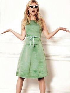 Clémence Poésy for Glamour. Photo © David Oldham & Glamour, UK.