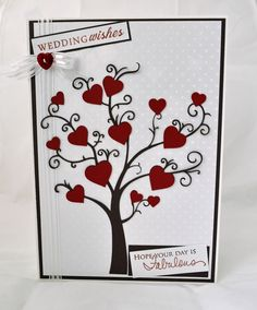 Inky Fingers: Silhouette Cameo Wedding Card
