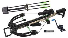 "NEW Carbon Express PileDriver 390 Crossbow Package w/ Cranking Device 20310 Product Info The Carbon Express PileDriver 390 comes equipped with the ""Re... #cranking #device #package #crossbow #express #piledriver #carbon"