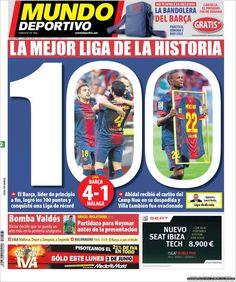 Los Titulares y Portadas de Noticias Destacadas Españolas del 2 de Junio de 2013 del Diario Mundo Deportivo ¿Que le parecio esta Portada de este Diario Español?