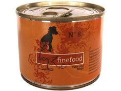 Dogz finefood No. 8 Hundefutter mit Pute  Ziege