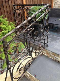 Where our European-trained craftsmen custom manufacture railings, staircases, gates, decks, fences and other custom metal work. Custom Metal Work, Custom Metal Fabrication, Outdoor Chairs, Outdoor Furniture, Outdoor Decor, Apex Design, Metal Gates, Metal Projects, Staircases