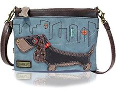 Chala Mini Crossbody Handbag, Multi Zipper, Pu Leather, Small Shoulder Purse Adjustable Strap
