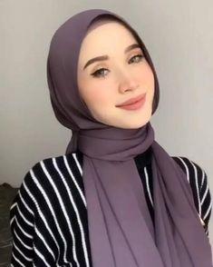 Stylish Hijab, Modest Fashion Hijab, Modern Hijab Fashion, Street Hijab Fashion, Hijab Fashion Inspiration, Muslim Fashion, Hijab Turban Style, Mode Turban, Hijab Outfit