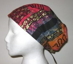 Free Sewing Hat Patterns | sewing pattern directions for scrub hat chemo