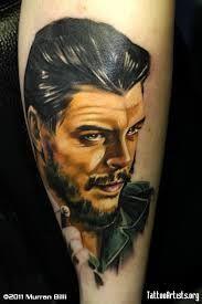 Resultado de imagem para tatuagem che guevara