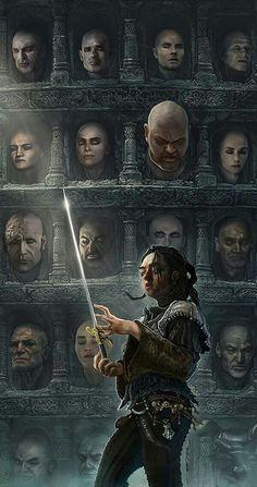 Arya stark and her list