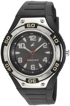 Fastrack Analog Black Dial Men's Watch
