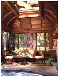 Escapes: — Washington Spaces, Summer 2008- This is the inside of the glass and steel structure conservatory