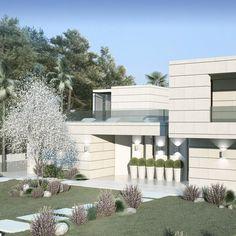 #arquitectura #architecture #design #diseño #art #sotogrande #luxury #luxuryhouse #luxuryhomes #arquitectos #maclac #almendralycancio #light #sky #exteriordesign #exteriordecor #exteriorstyle #diseñodeespacios