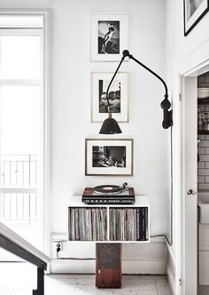 A PHOTOGRAPHER'S HOME IN STOCKHOLM, SWEDEN