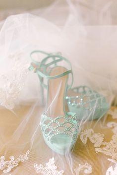 Mint Wedding Shoes xx