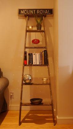 Broken old ladder