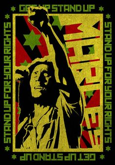 Bob Marley Stand Up For Your Rights