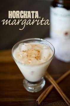 Horchata margarita | Such the Spot: