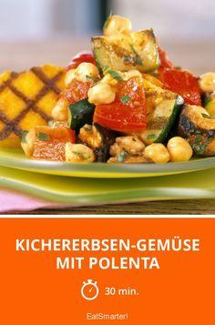 Kichererbsen-Gemüse mit Polenta - smarter - Zeit: 30 Min. | eatsmarter.de
