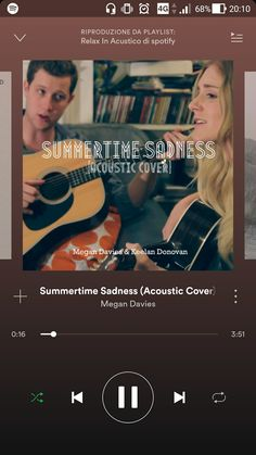 """Megan Davies - Summertime Sadness (Acoustic Cover)  """"...Kiss me hard before you go... summertime sadness. I just wanted you to know that baby you're the best..."""""""