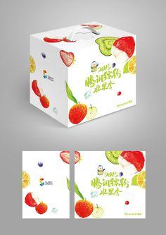 原创作品:腾讯水果季包装设计@SunnyPing采集到包装设计(201图)_花瓣平面