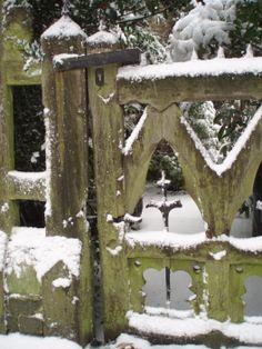Gate at Holly Village, Highgate, London, uncredited