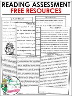 6 Steps to Quickly Assess Reading Abilities - Out of this World Literacy Third Grade Reading, Student Reading, Kindergarten Reading, Teaching Reading, Guided Reading, Reading Tutoring, Teaching Art, Teaching Ideas, Teaching Grammar