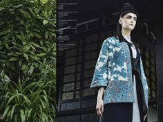 // ORIENTAL EXPRESS // Photographer: Agata Stoinska /  Stylist: Tanya Grimson /  Model: Sheona // 1st Option Models, Management /  Hair Stylist: Joe Hayes /  Make-up: Vivien Pomeroy / AS SEEN ON http://www.maven46.com/editoria…/oriental-express/editorial/