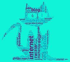 Mi nube de conceptos conocidos de marketing digital