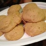 Eggnog Cookies for Santa Claus  *Healthier Version