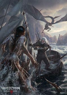 The Witcher III: Wild Hunt. Sea Hunt.