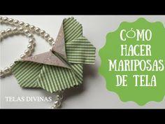 CÓMO HACER MARIPOSAS DE TELAS DIVINAS (TUTORIAL CON VIDEO) - Telas DivinasTelas Divinas