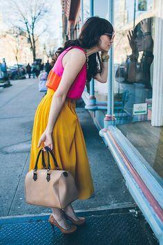 GiGi New York : Dean Street Society I Florals & Color & Happy Spring Style