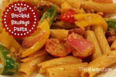 Cajun Smoked Sausage Pasta