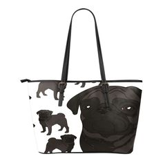 Pug Lover 3 Lg Bag