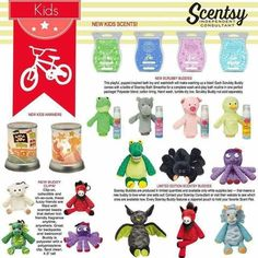 Fall in love with our NEW kids line!! http://jennyhermel5.scentsy.us