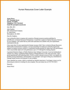 Hr Cover Letter Examples Administrative Assistant Resume Cover Letter  Resume Cover Letter .
