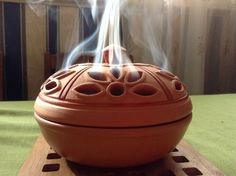 My incense burner with Bakhoor and Oud Bakhoor. Smells so good.