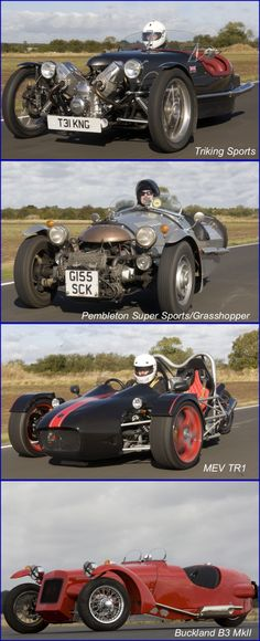 High Performance British Three Wheelers