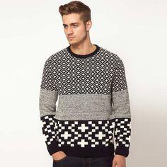 ¡Si te gusta innovar prueba con este jersey! · Tres estampados en una sola prenda,¿alguien da mas?