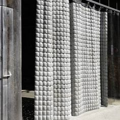 spatula:  (via Bartlett Year 1 Architecture Diary: Fabric Cast Concrete - Fabric Formed Concrete)
