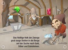 Koenig Laurin und der Rosengarten | iPad iPhone
