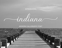 """Check out new work on my @Behance portfolio: """"Indiana Font Calligraphy"""" http://be.net/gallery/59278111/Indiana-Font-Calligraphy"""