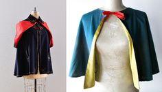 1930s fashion capes