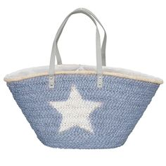Clayre&Eef  | Shopper  | 30*67 cm| blauw