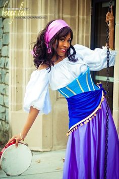 "#Esmeralda from ""The Hunchback of Notre Dame""  Photography by Benny Lee #cosplay #Blikku"