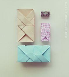 One Sheet Rectangular Origami Box